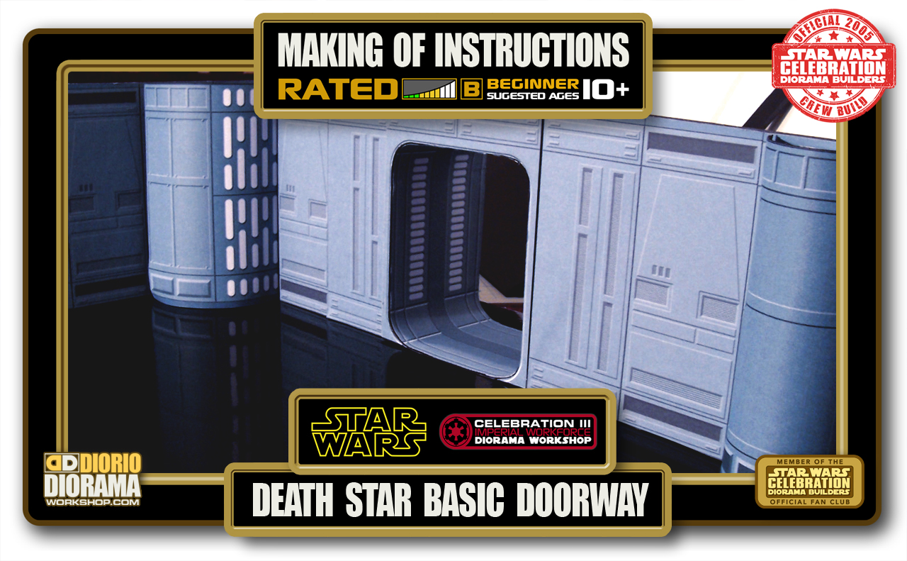 TUTORIALS • MAKING OF • DEATH STAR BASIC DOORWAY