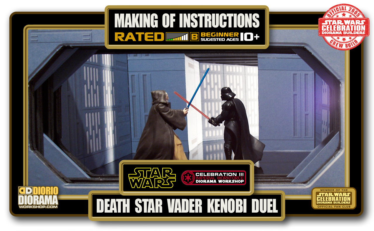 TUTORIALS • MAKING OF • DEATH STAR VADER KENOBI DUEL HALLWAY