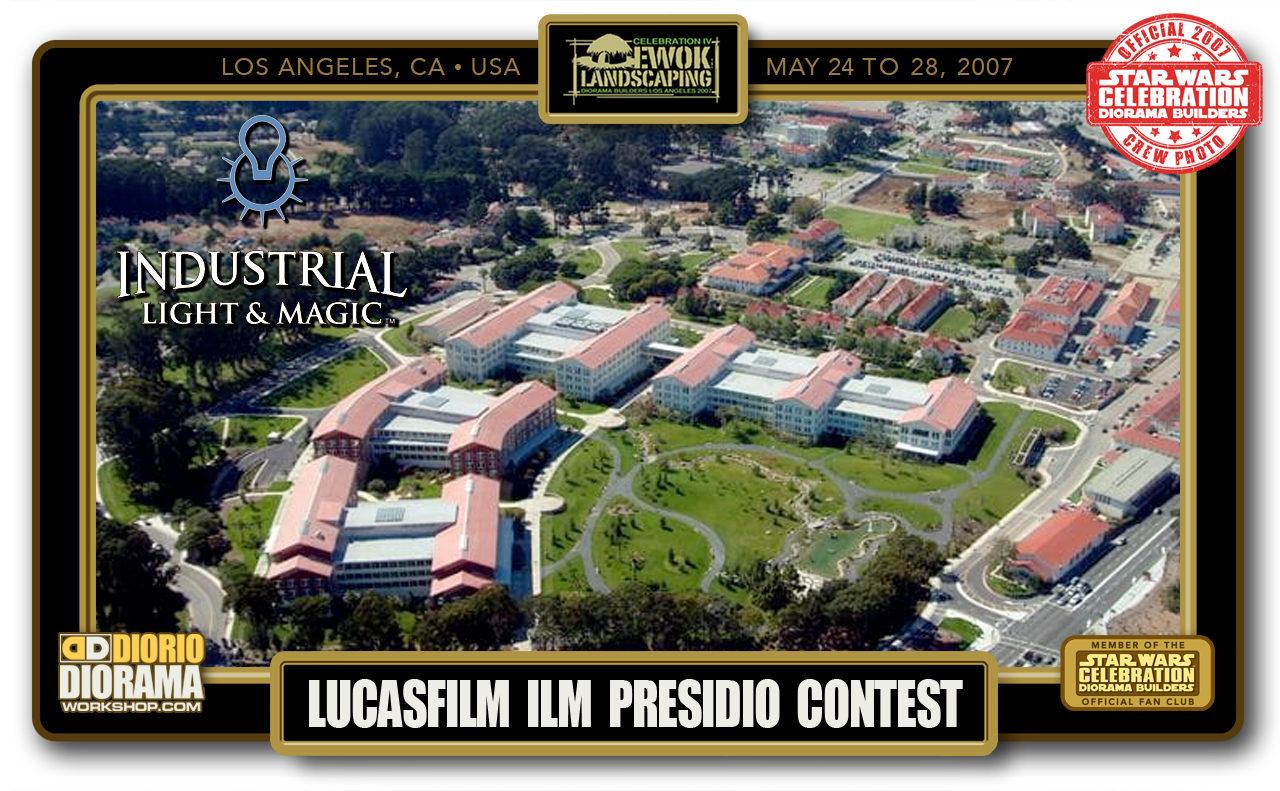 CONVENTIONS • C4 PRE PRODUCTION • LUCASFILM ILM PRESIDIO CONTEST