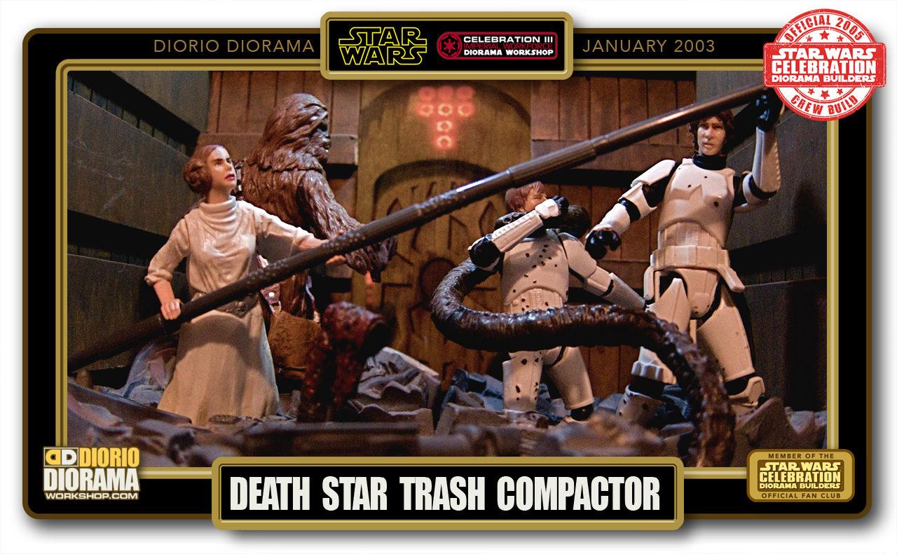 DIORIO DIORAMAS • HD FULLCREEN • DEATH STAR TRASH COMPACTOR