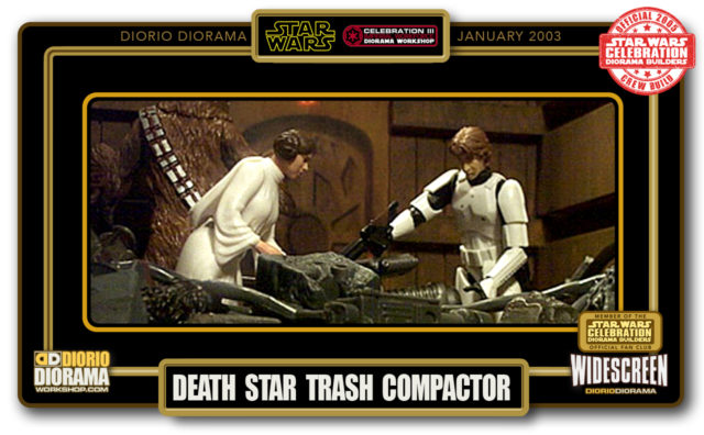 DIORIO DIORAMAS • HD WIDECREEN • DEATH STAR TRASH COMPACTOR