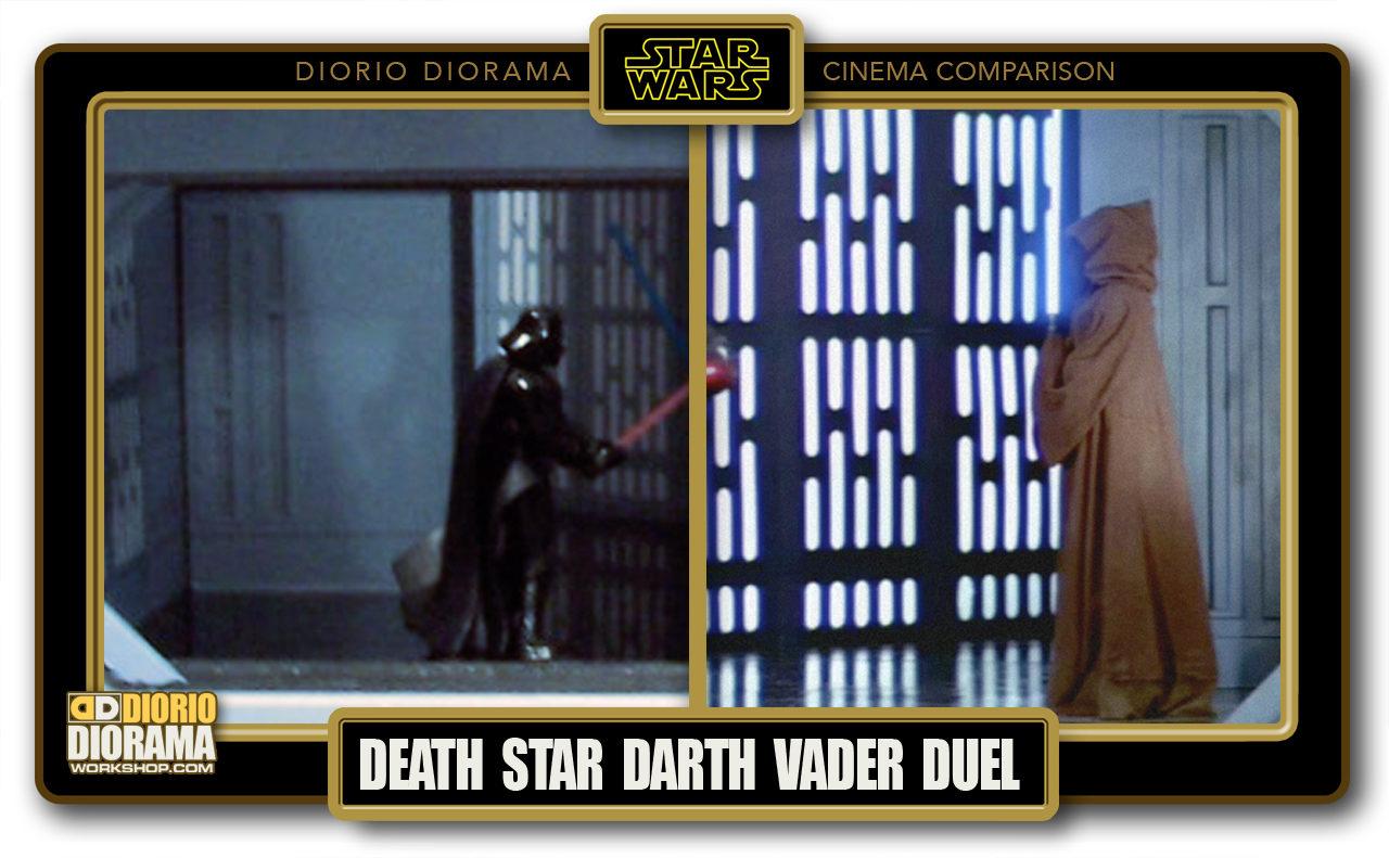 DIORIO DIORAMA • CINEMA COMPARISON • DEATH STAR VADER KENOBI DUEL
