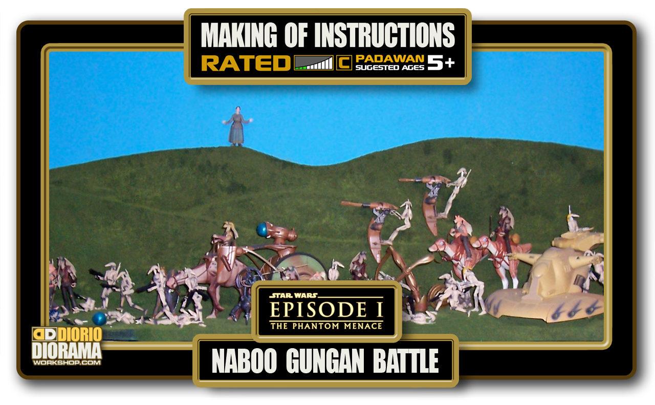 TUTORIALS • MAKING OF • NABOO GUNGAN BATTLE