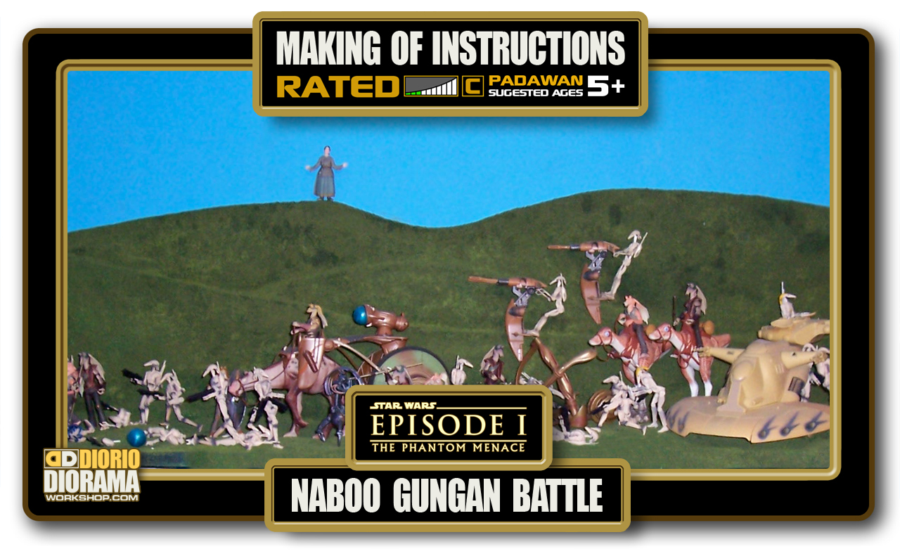 TUTORIALS • MAKING OF • NABOO GUNGAN BATTLE
