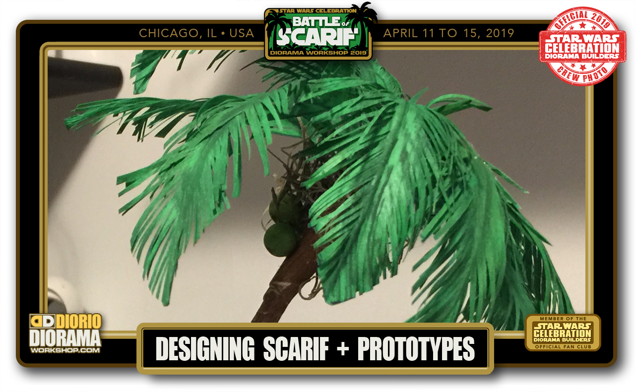 CONVENTIONS • C9 PRE PRODUCTION • DESIGNING BATTLE OF SCARIF + PROTOTYPES