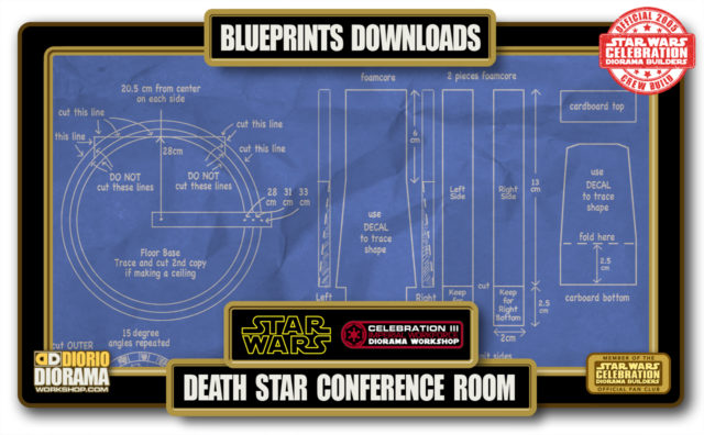 TUTORIALS • BLUEPRINTS • DEATH STAR CONFERENCE ROOM