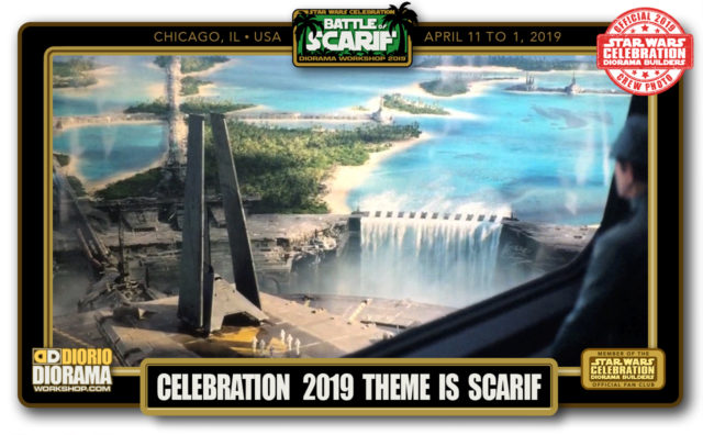 CONVENTIONS • C9 PRE PRODUCTION • 2019 DIORAMA BUILDERS BATTLE OF SCARIF