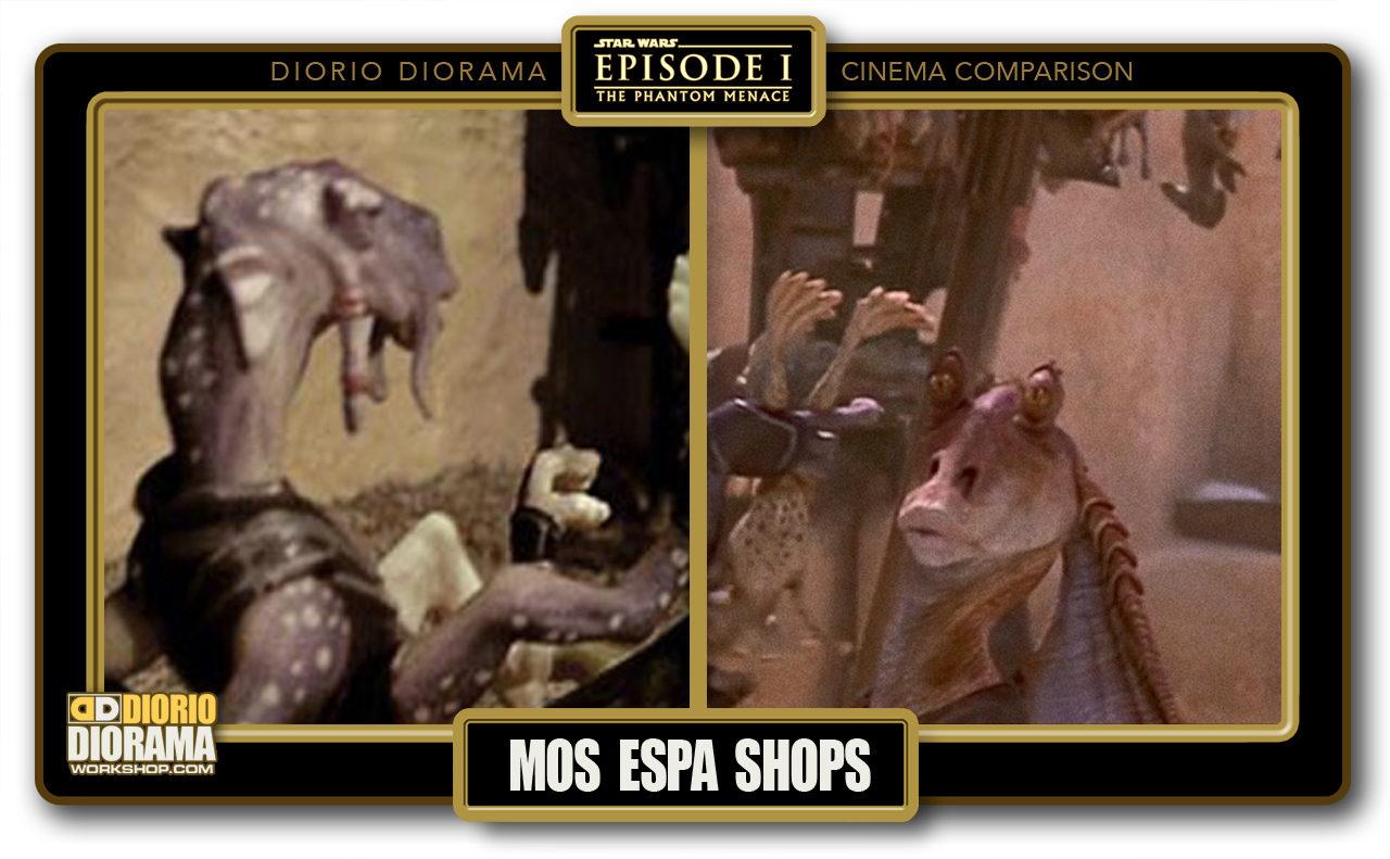 DIORIO DIORAMA • CINEMA COMPARISON • MOS ESPA SHOPS