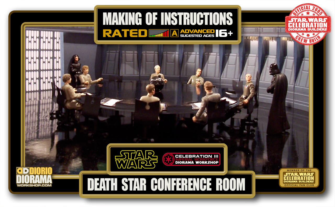 TUTORIALS • MAKING OF • DEATH STAR CONFERENCE ROOM