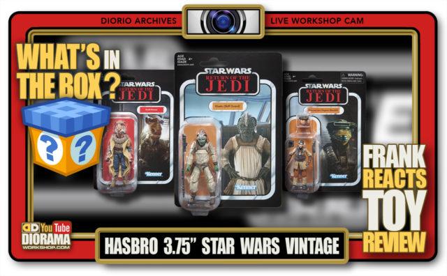 GALLERY • DIORIO COLLECTIBLES • HASBRO 3.75″ STAR WARS VINTAGE