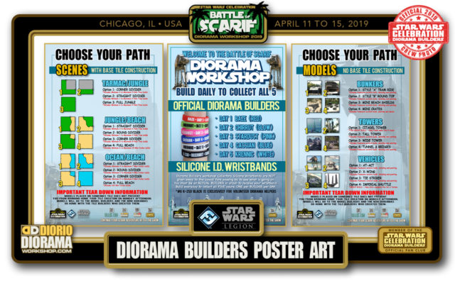 CONVENTIONS • C9 PRODUCTION • DIORAMA BUILDERS BOOTH POSTER ART