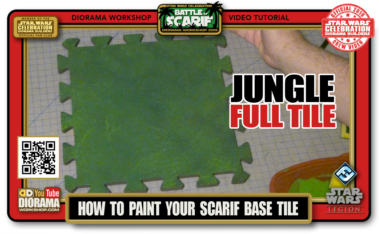 CONVENTIONS • C9 PRODUCTION • HOW TO PAINT SCARIF FULL JUNGLE TILE