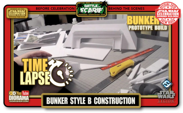 CONVENTIONS • C9 PRE PRODUCTION • TIME LAPSE BUNKER B PROTOTYPE