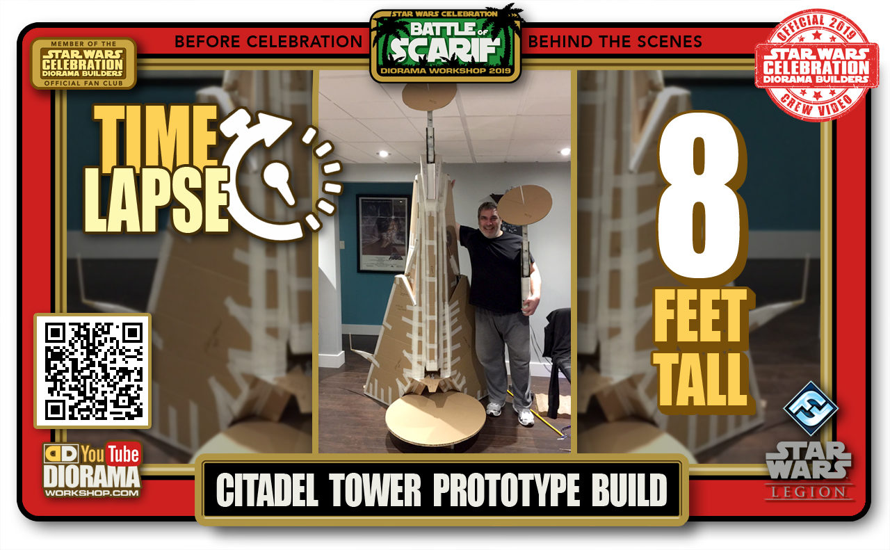CONVENTIONS • C9 PRE PRODUCTION • TIME LAPSE CITADEL TOWER PROTOTYPE