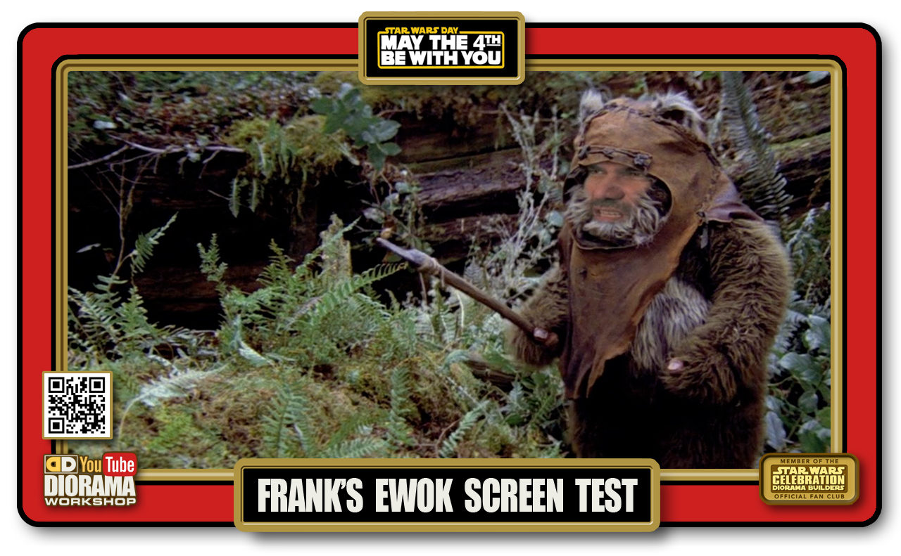 SPECIAL REPORT • MAY THE 4TH BE WITH YOU • FRANK WICKET SCREEN TEST