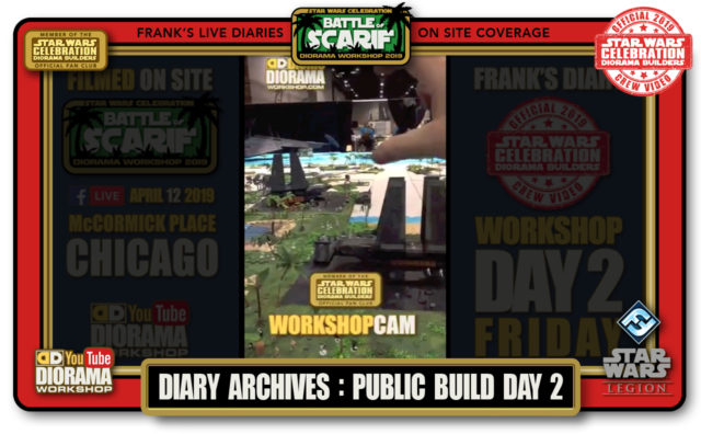 CONVENTIONS • C9 PRODUCTION • FRANK'S LIVE DIARIES ARCHIVE • PUBLIC BUILD DAY 2