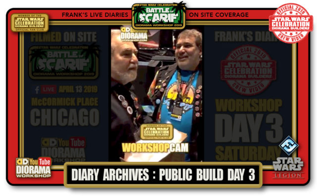 CONVENTIONS • C9 PRODUCTION • FRANK'S LIVE DIARIES ARCHIVE • PUBLIC BUILD DAY 3