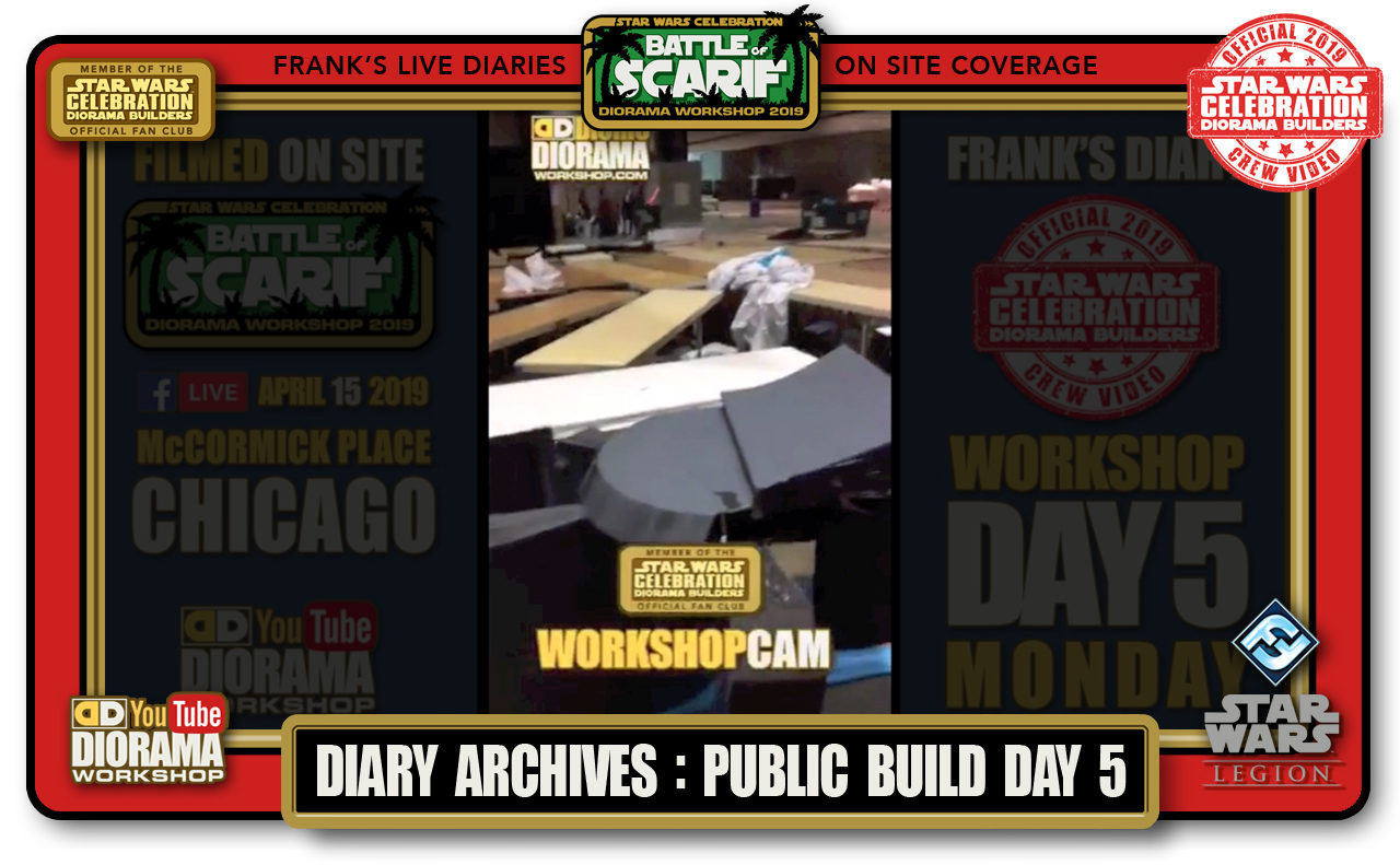 CONVENTIONS • C9 PRODUCTION • FRANK'S LIVE DIARIES ARCHIVE • PUBLIC BUILD DAY 5