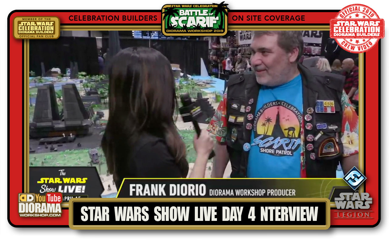 CONVENTIONS • C9 PRODUCTION • FRANK DIORIO STAR WARS SHOW LIVE INTERVIEW