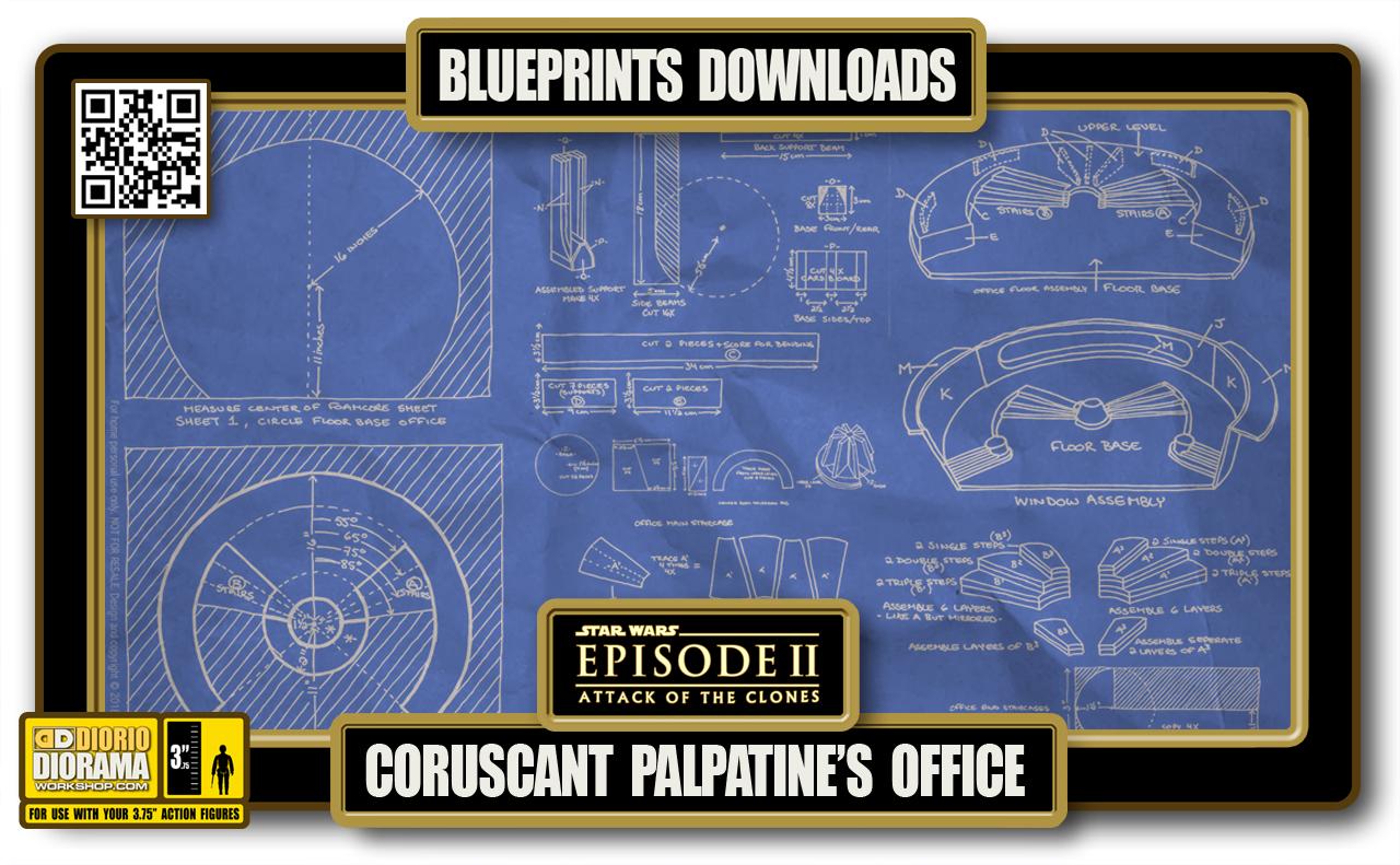 TUTORIALS • BLUEPRINTS • CORSUCANT PALPATINE'S OFFICE