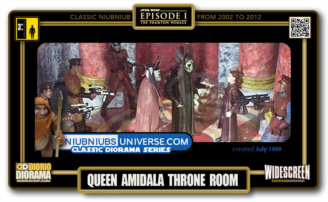 DIORIO DIORAMA • CLASSIC NIUBNIUB • QUEEN AMIDALA THRONE ROOM