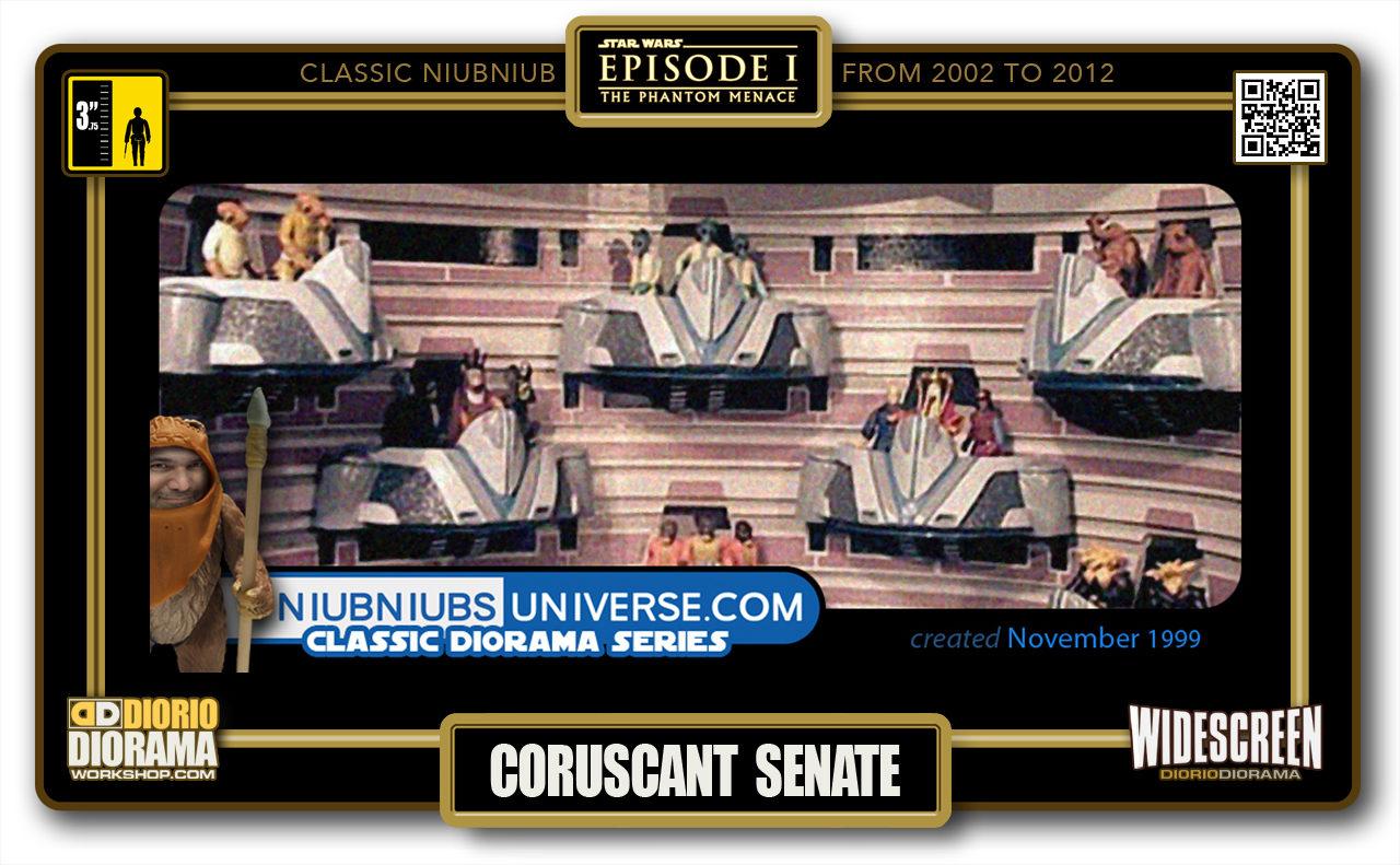 DIORIO DIORAMA • CLASSIC NIUBNIUB • CORUSCANT SENATE