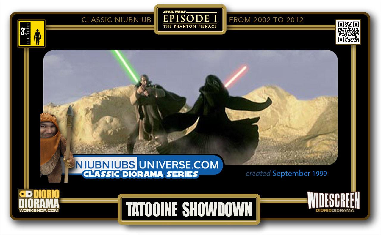 DIORIO DIORAMA • CLASSIC NIUBNIUB • TATOOINE SHOWDOWN