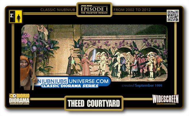 DIORIO DIORAMA • CLASSIC NIUBNIUB • THEED COURTYARD