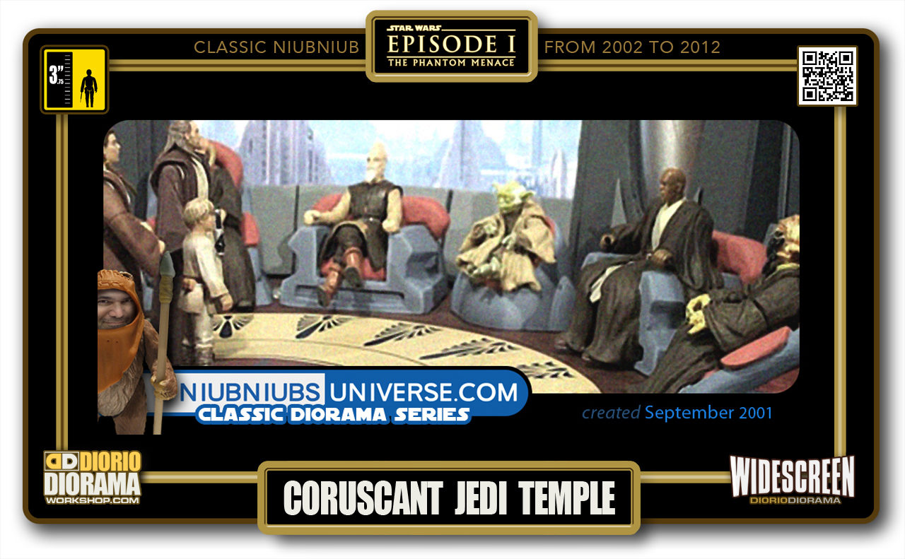 DIORIO DIORAMA • CLASSIC NIUBNIUB • CORUSCANT JEDI TEMPLE