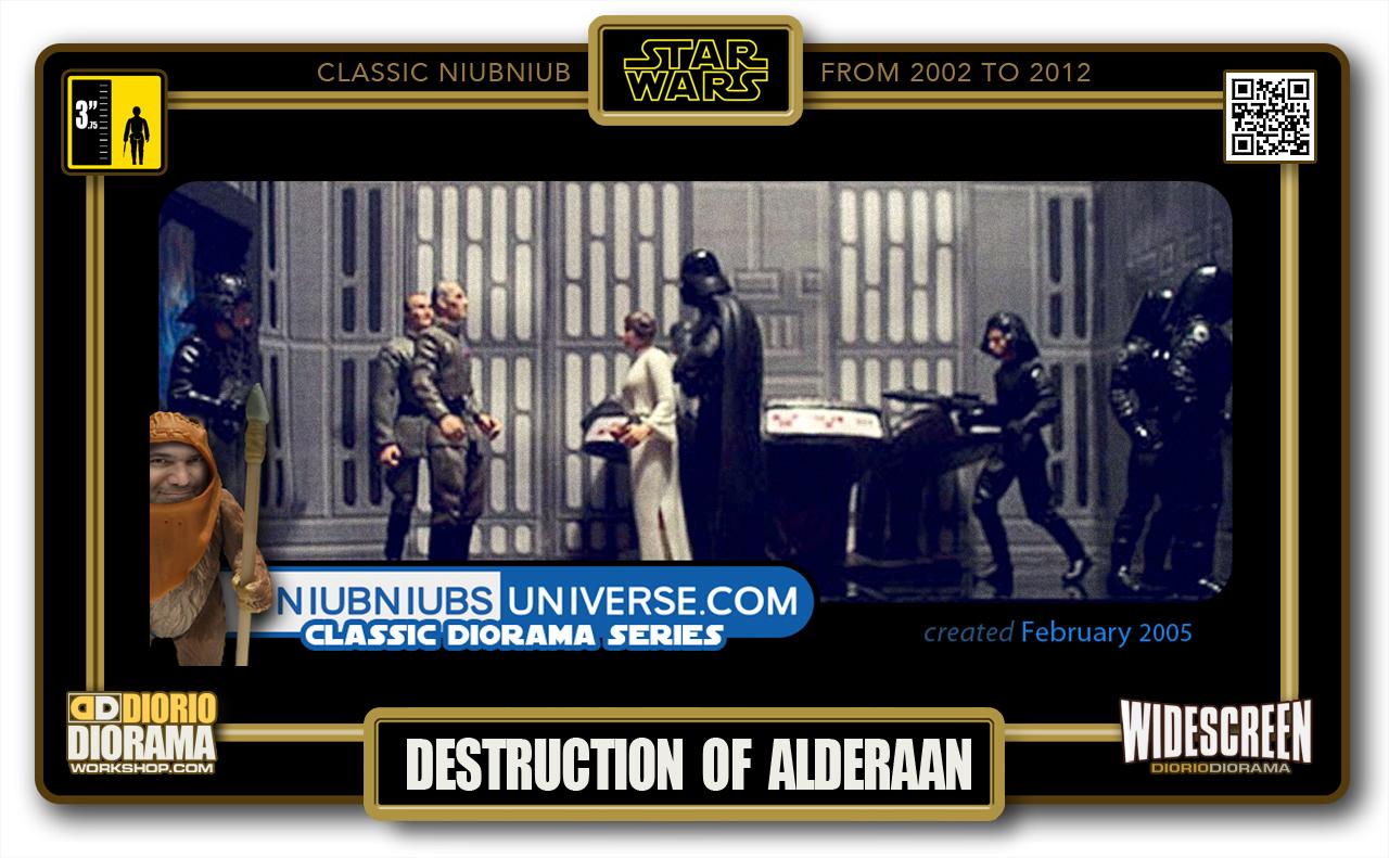 DIORIO DIORAMA • CLASSIC NIUBNIUB • DEATH STAR DESTRUCTION OF ALDERAAN