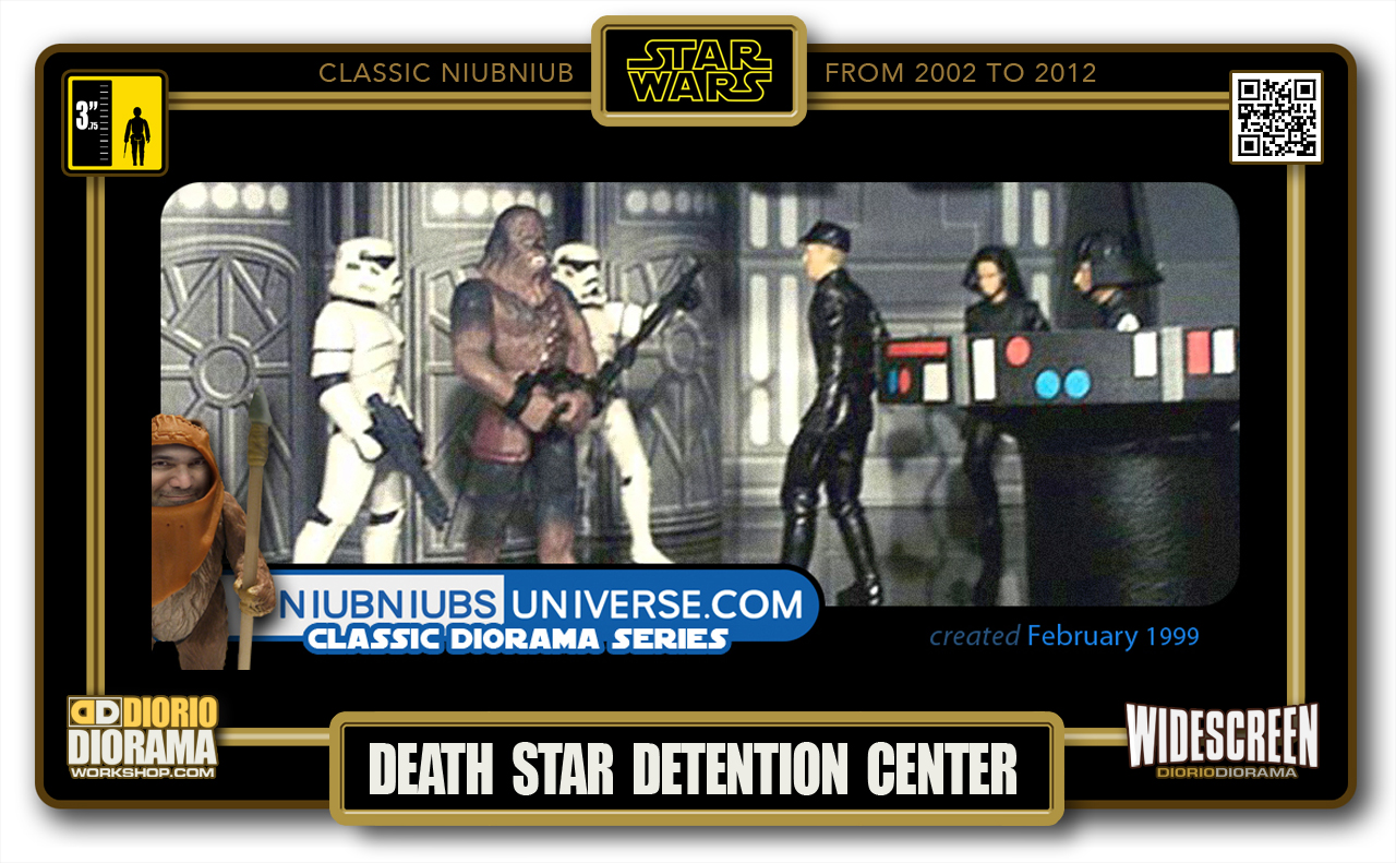 DIORIO DIORAMA • CLASSIC NIUBNIUB • DEATH STAR DETENTION CENTER