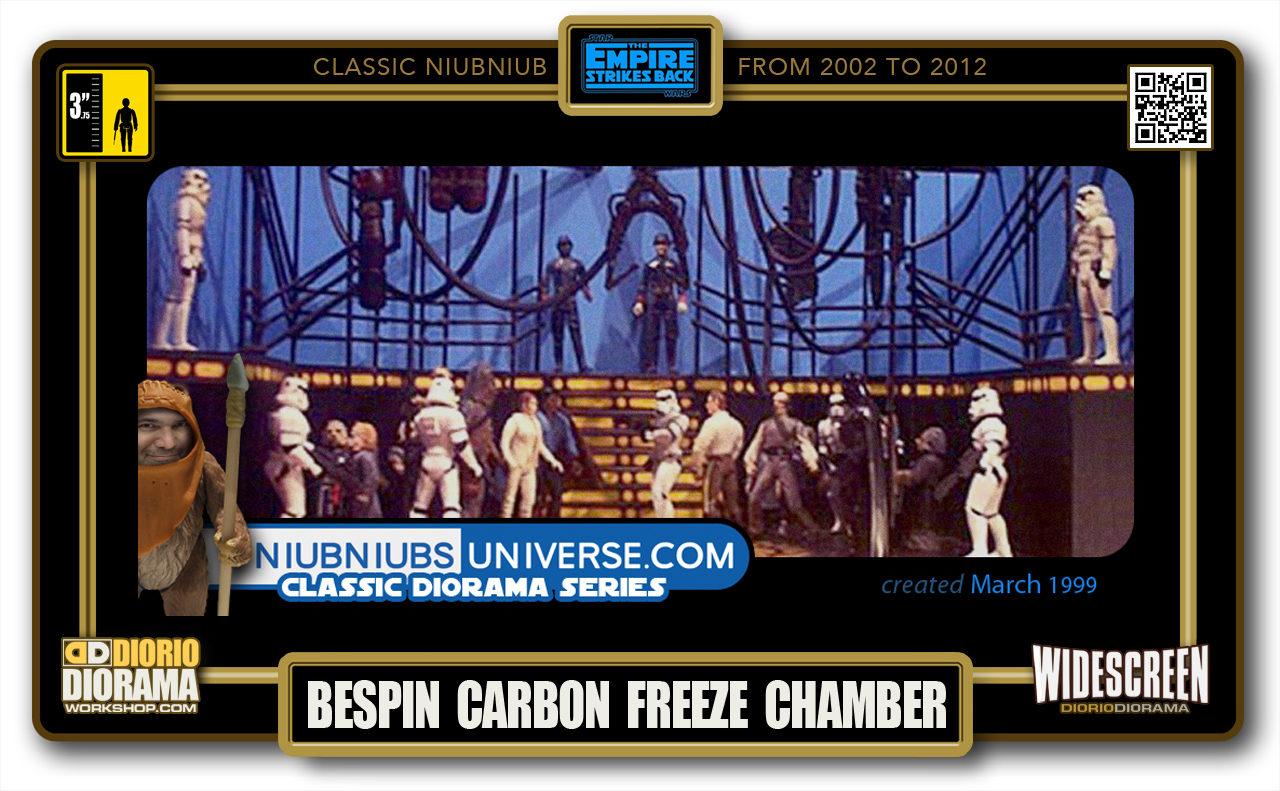 DIORIO DIORAMA • CLASSIC NIUBNIUB • BESPIN CARBON FREEZE CHAMBER