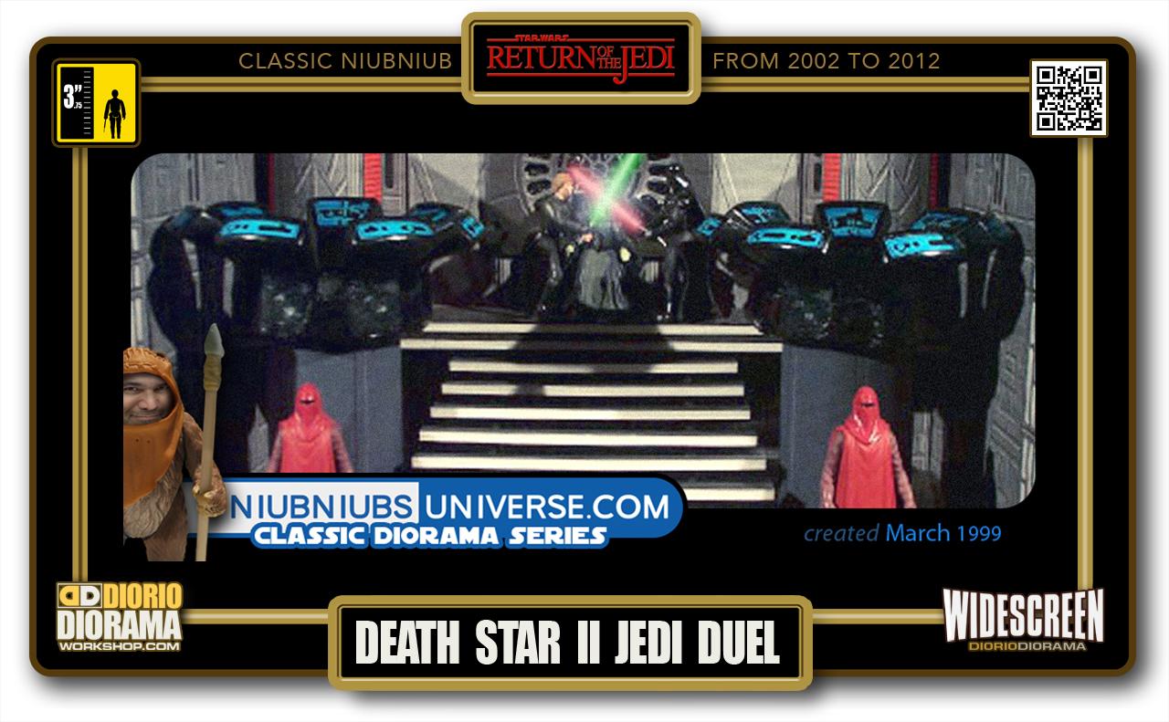 DIORIO DIORAMA • CLASSIC NIUBNIUB • DEATH STAR II JEDI DUEL