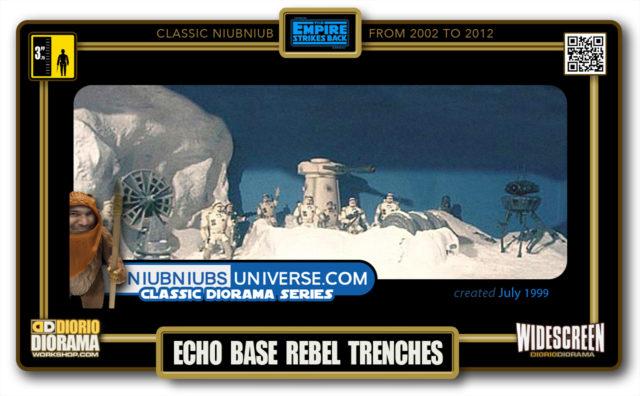 DIORIO DIORAMA • CLASSIC NIUBNIUB • ECHO BASE TRENCHES