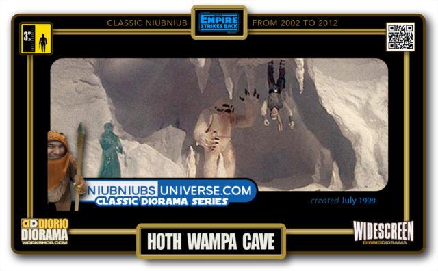 DIORIO DIORAMA • CLASSIC NIUBNIUB • HOTH WAMPA CAVE