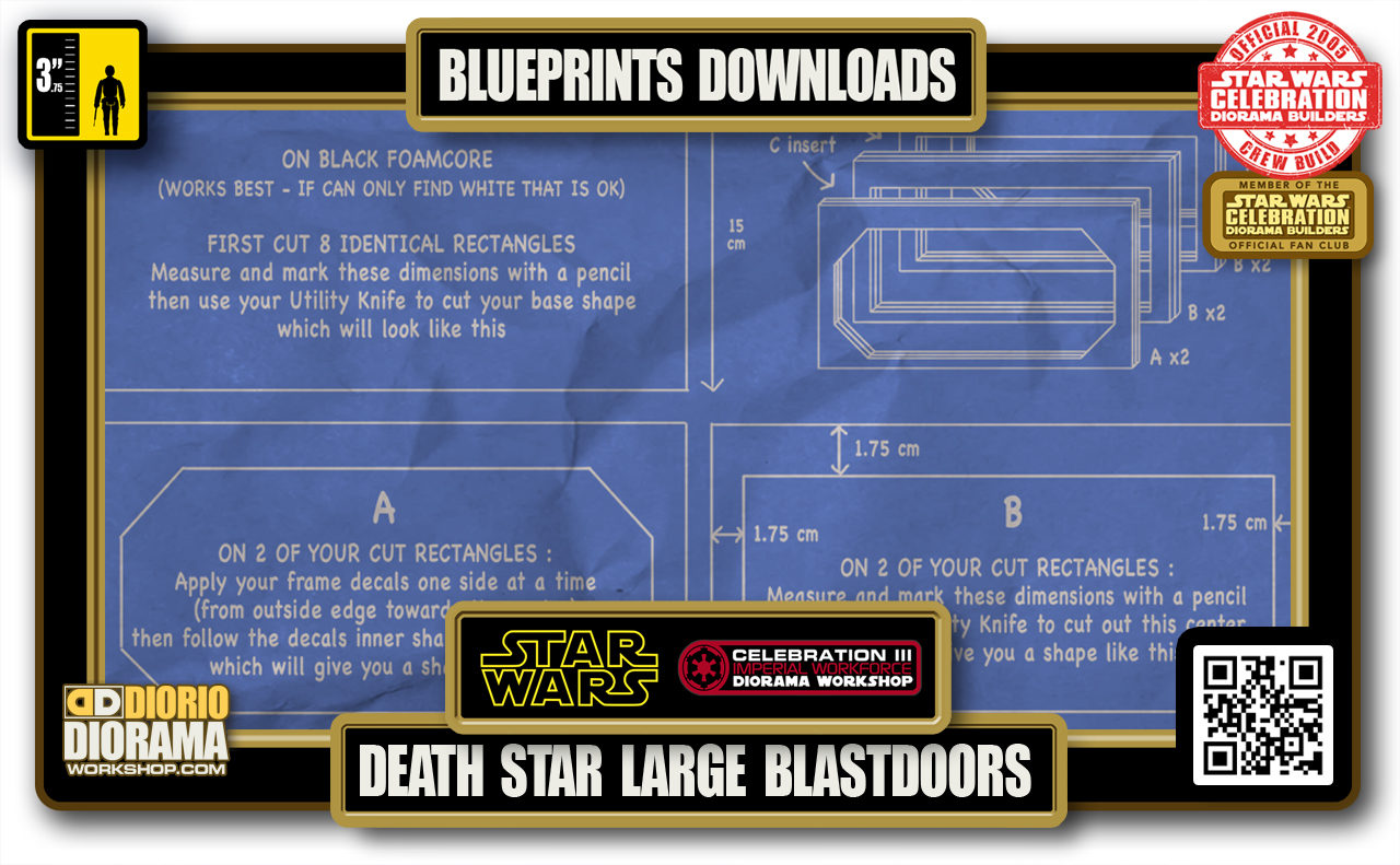 TUTORIALS • BLUEPRINTS • DEATH STAR LARGE BLAST DOORS 2020