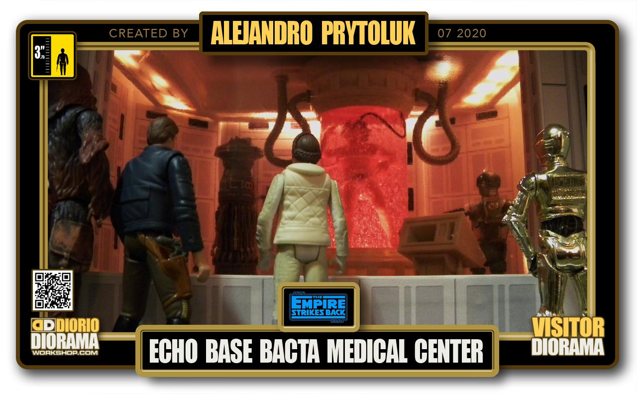 VISITORS HD FULLSCREEN DIORAMA • ALEJANDRO PRYTOLUK • STAR WARS EPISODE V • HOTH ECHO BASE BACTA MEDICAL CENTER