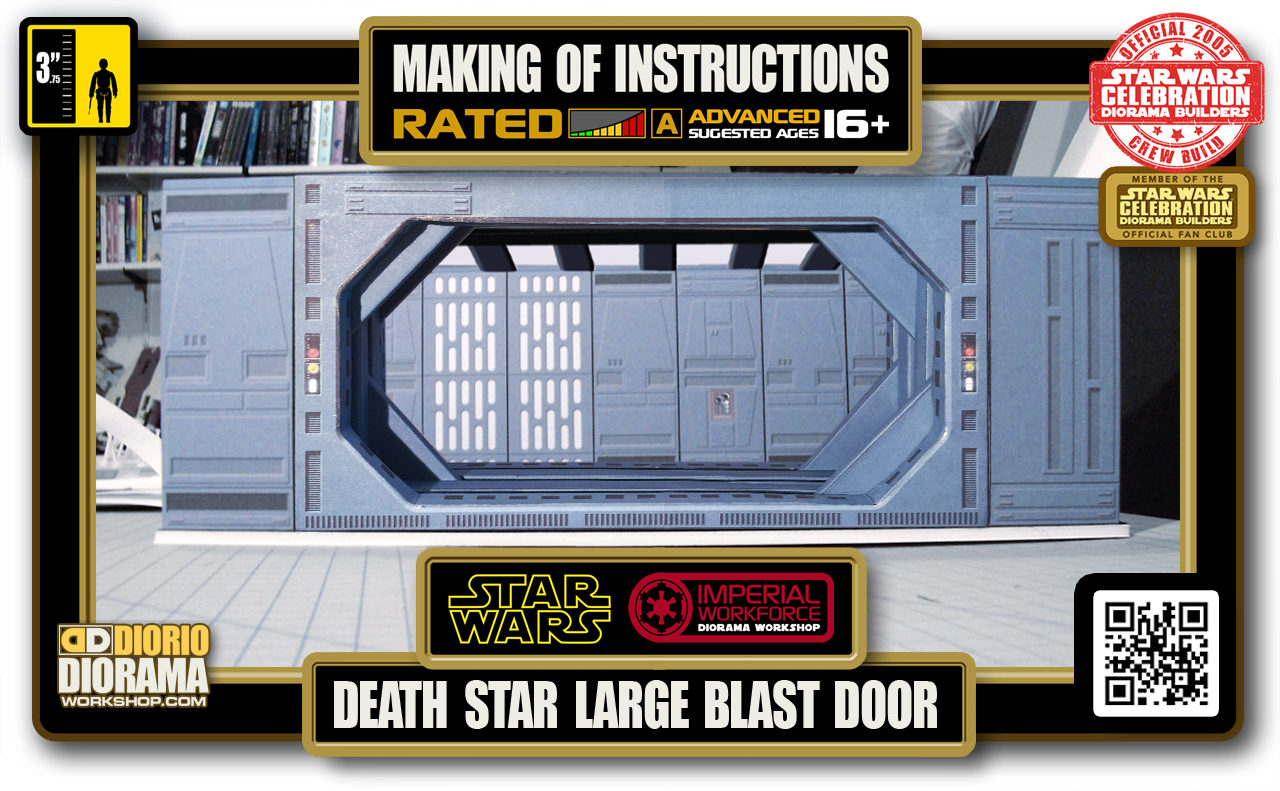 TUTORIALS • MAKING OF • DEATH STAR • LARGE BLAST DOOR