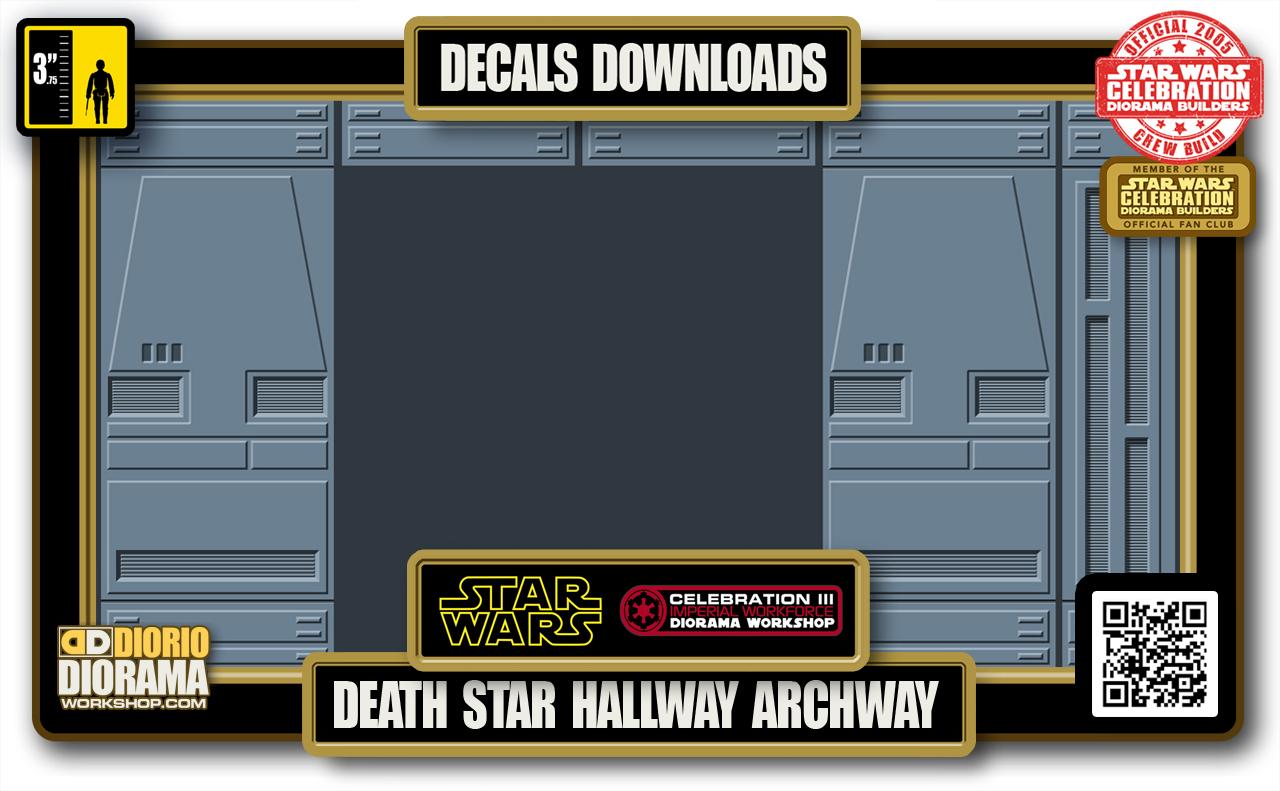 TUTORIALS • DECALS • DEATH STAR • HALLWAYS ARCHWAY