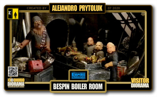 VISITORS HD FULLSCREEN DIORAMA • ALEJANDRO PRYTOLUK • STAR WARS EPISODE V • BESPIN BOILER ROOM