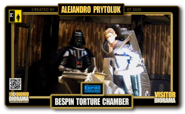 VISITORS HD FULLSCREEN DIORAMA • ALEJANDRO PRYTOLUK • STAR WARS EPISODE V • BESPIN TORTURE CHAMBER