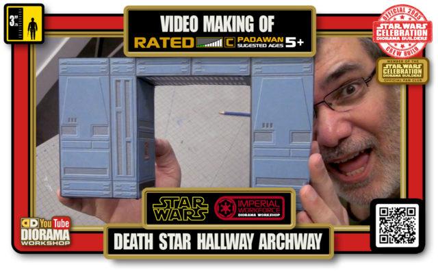 TUTORIALS • CELEBRATION 3 VIDEO MAKING OF • DEATH STAR HALLWAYS ARCHWAY 2020