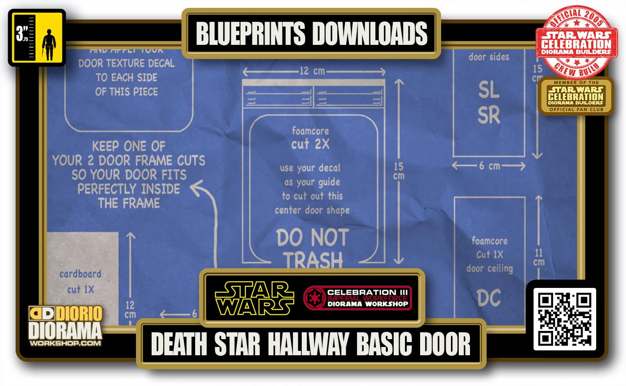 TUTORIALS • BLUEPRINTS • DEATH STAR HALLWAY BASIC DOOR 2020
