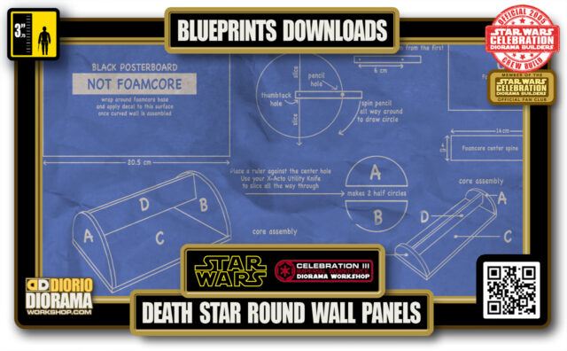 TUTORIALS • BLUEPRINTS • DEATH STAR HALLWAYS ROUND WALL PANELS 2020