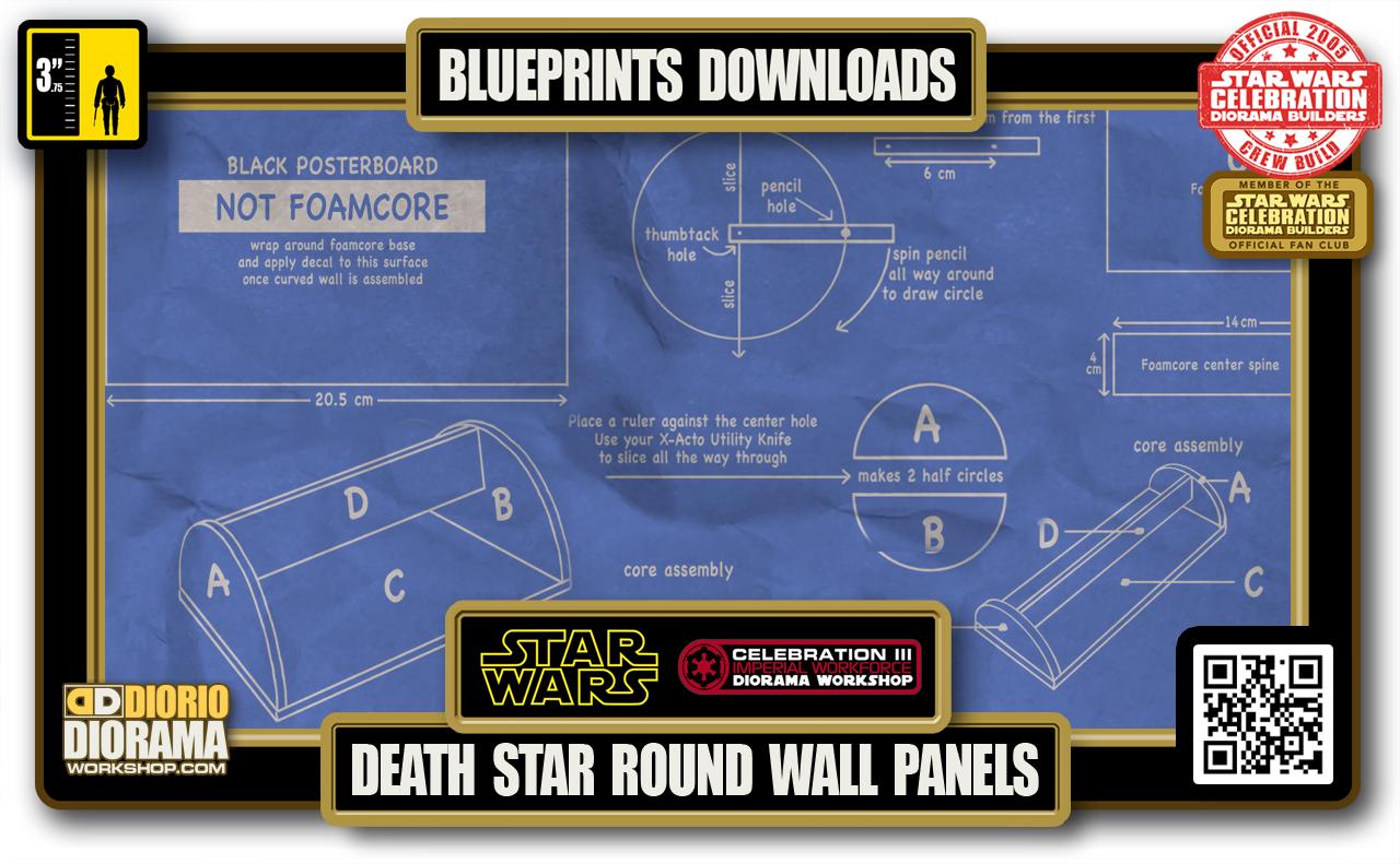 TUTORIALS • BLUEPRINTS • DEATH STAR HALLWAYS ROUND WALL PANELS 2020