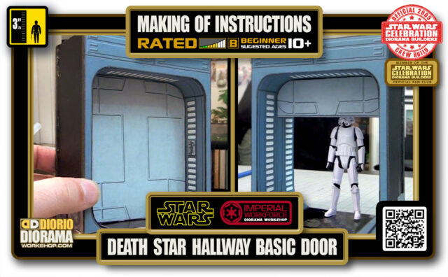 TUTORIALS • MAKING OF • DEATH STAR • HALWAY BASIC DOOR 2020