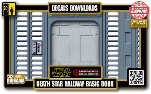 TUTORIALS • DECALS • DEATH STAR • HALLWAY BASIC DOOR 2020