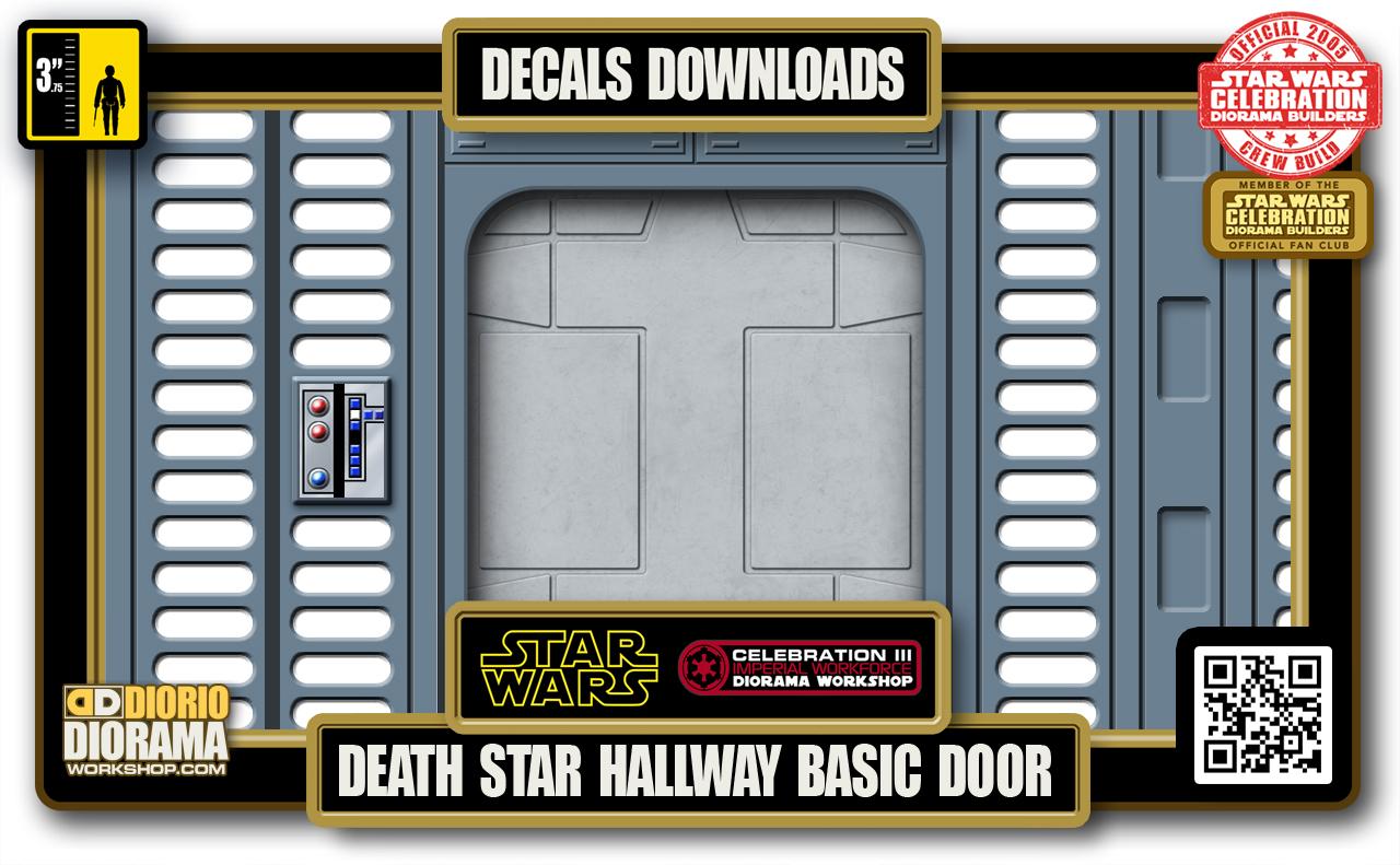 TUTORIALS • DECALS • DEATH STAR • HALLWAY BASIC DOOR 2020