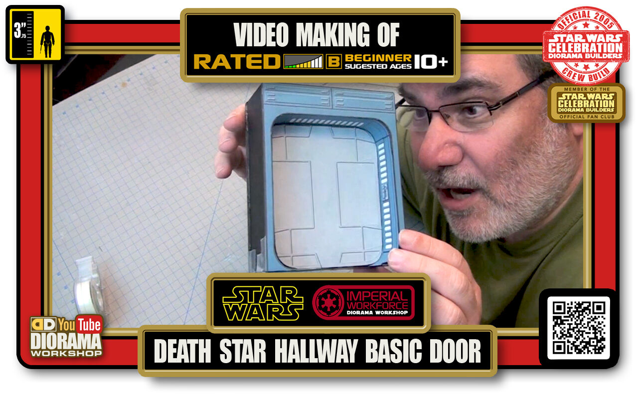 TUTORIALS • CELEBRATION 3 VIDEO MAKING OF • DEATH STAR HALLWAYS BASIC DOOR 2020