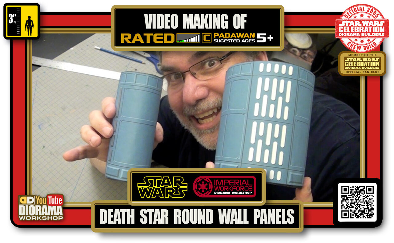 TUTORIALS • CELEBRATION 3 VIDEO MAKING OF • DEATH STAR HALLWAYS ROUND WALL PANELS 2020